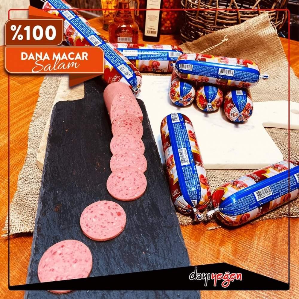 Dayı Yeğen Macar Salam 900 Gr %100 Dana Eti